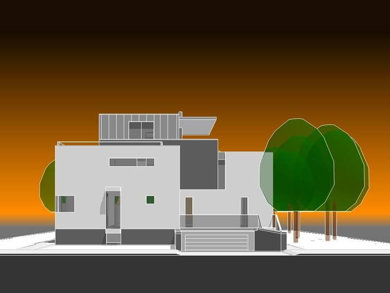 Moderne villa – met gastvrijheid