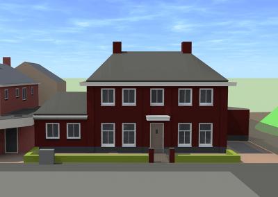 PS330-woonhuis-tekening
